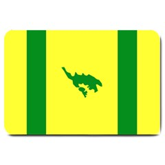 Flag Of Culebra Large Doormat