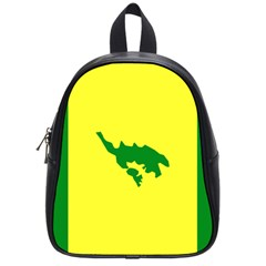 Flag Of Culebra School Bag (small)
