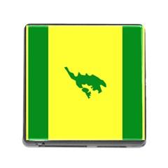 Flag Of Culebra Memory Card Reader (square)