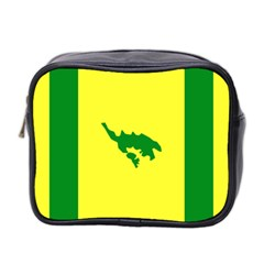Flag Of Culebra Mini Toiletries Bag 2 Side