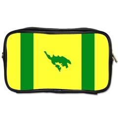 Flag Of Culebra Toiletries Bags