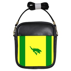 Flag Of Culebra Girls Sling Bags