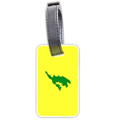Flag Of Culebra Luggage Tags (two Sides)