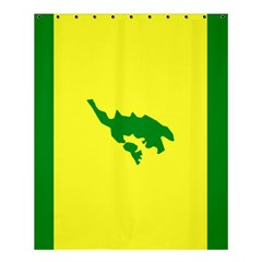 Flag Of Culebra Shower Curtain 60  X 72  (medium)
