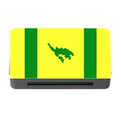 Flag Of Culebra Memory Card Reader With Cf