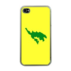 Flag Of Culebra Apple Iphone 4 Case (clear)