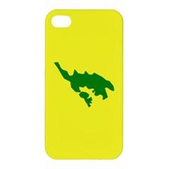 Flag Of Culebra Apple Iphone 4/4s Hardshell Case