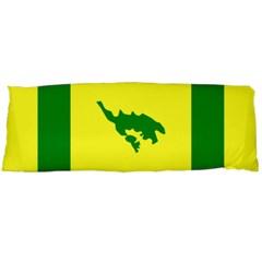 Flag Of Culebra Body Pillow Case (dakimakura)