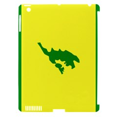 Flag Of Culebra Apple Ipad 3/4 Hardshell Case (compatible With Smart Cover)