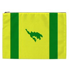 Flag Of Culebra Cosmetic Bag (xxl)