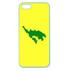 Flag Of Culebra Apple Seamless Iphone 5 Case (color)