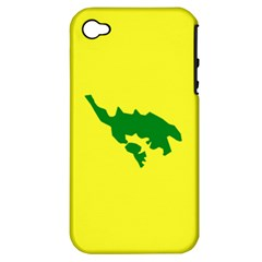 Flag Of Culebra Apple Iphone 4/4s Hardshell Case (pc+silicone)