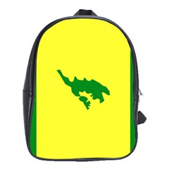 Flag Of Culebra School Bag (xl)