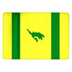 Flag Of Culebra Samsung Galaxy Tab 10 1  P7500 Flip Case