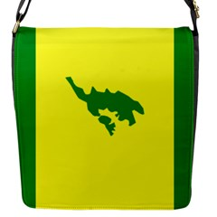 Flag Of Culebra Flap Messenger Bag (s)