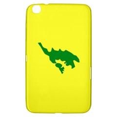 Flag Of Culebra Samsung Galaxy Tab 3 (8 ) T3100 Hardshell Case