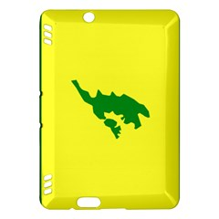 Flag Of Culebra Kindle Fire Hdx Hardshell Case