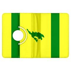 Flag Of Culebra Kindle Fire Hdx Flip 360 Case