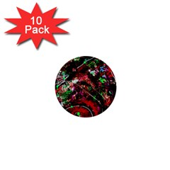 Bloody Coffee 6 1  Mini Buttons (10 Pack)