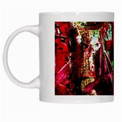 Bloody Coffee 5 White Mugs