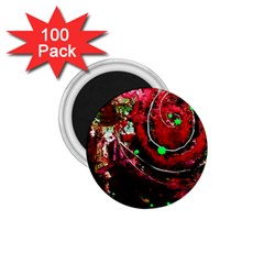 Bloody Coffee 5 1 75  Magnets (100 Pack)
