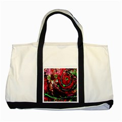 Bloody Coffee 5 Two Tone Tote Bag