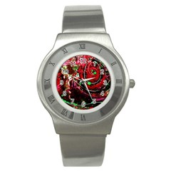 Bloody Coffee 5 Stainless Steel Watch