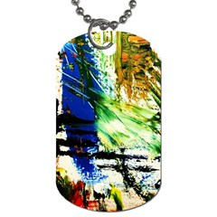 Alaska Industrial Landscape Dog Tag (one Side)