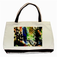 Alaska Industrial Landscape Basic Tote Bag (two Sides)