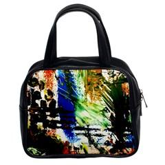 Alaska Industrial Landscape Classic Handbags (2 Sides)
