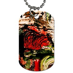 Alaska Industrial Landscape 4 Dog Tag (one Side)