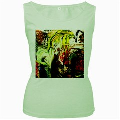 Alaska Industrial Landscape 1 Women s Green Tank Top by bestdesignintheworld