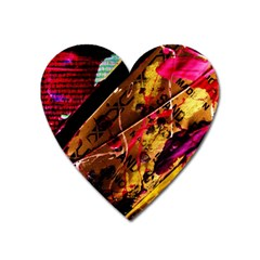 Absurd Theater In And Out 5 Heart Magnet by bestdesignintheworld