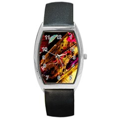 Absurd Theater In And Out 5 Barrel Style Metal Watch