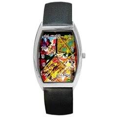 Absurd Theater In And Out Barrel Style Metal Watch