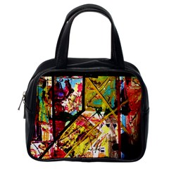 Absurd Theater In And Out Classic Handbags (one Side)