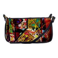 Absurd Theater In And Out Shoulder Clutch Bags by bestdesignintheworld