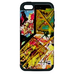 Absurd Theater In And Out Apple Iphone 5 Hardshell Case (pc+silicone) by bestdesignintheworld
