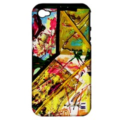 Absurd Theater In And Out Apple Iphone 4/4s Hardshell Case (pc+silicone) by bestdesignintheworld