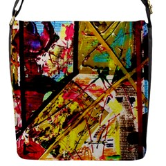 Absurd Theater In And Out Flap Messenger Bag (s) by bestdesignintheworld