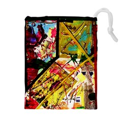 Absurd Theater In And Out Drawstring Pouches (extra Large)