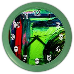 Abandoned Mine 6 Color Wall Clocks
