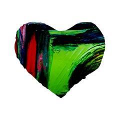 Abandoned Mine 6 Standard 16  Premium Heart Shape Cushions by bestdesignintheworld