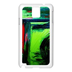 Abandoned Mine 6 Samsung Galaxy Note 3 N9005 Case (white)