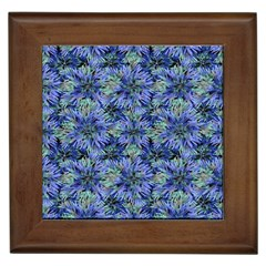 Modern Nature Print Pattern 7200 Framed Tiles