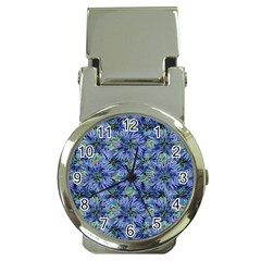 Modern Nature Print Pattern 7200 Money Clip Watches