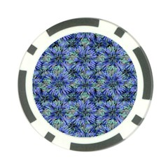Modern Nature Print Pattern 7200 Poker Chip Card Guard