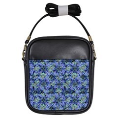 Modern Nature Print Pattern 7200 Girls Sling Bags