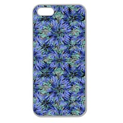 Modern Nature Print Pattern 7200 Apple Seamless Iphone 5 Case (clear)