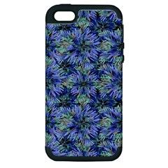 Modern Nature Print Pattern 7200 Apple Iphone 5 Hardshell Case (pc+silicone)